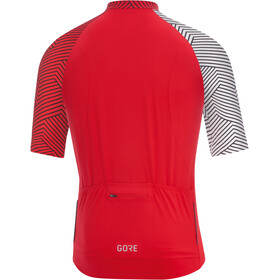 GORE WEAR C5 Optiline Maillot Hombre, red/white